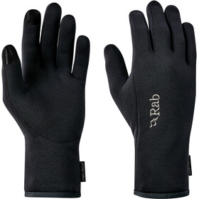 Rab Power Stretch Contact Guantes Hombre, black
